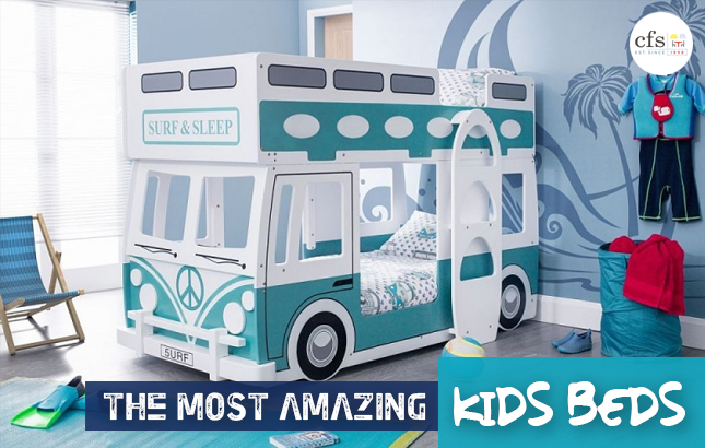 Top Picks: The 5 Most Amazing Kid's Beds